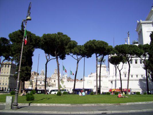 Roma, piazza Venezia