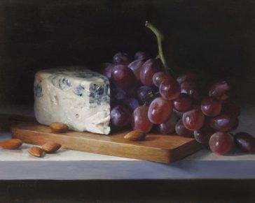Cindy Procious, Grapes and Gorgonzola-(www.cindyprocious.com)