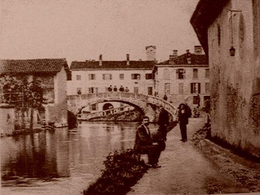 Il ponte di Rodrigo Foto dal sito ProLoco Gorgonzola - www. prolocogorgonzola.it