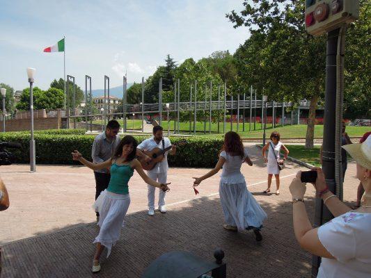 Decennale del gemellaggio con Portes Lés Valence. Delegazione francese a Baronissi.