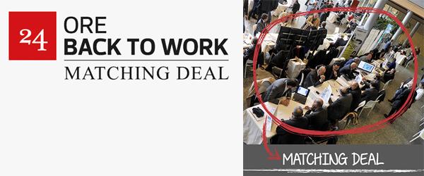 Artès protagonista al Matching Deal organizzato da BacktoWork24 del Sole 24 Ore