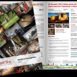 Nuovo Catalogo Artès in lingua Inglese, riscopri l'Italia