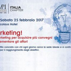 Sì, marketing per acquisire più convegni e incrementare gli affari