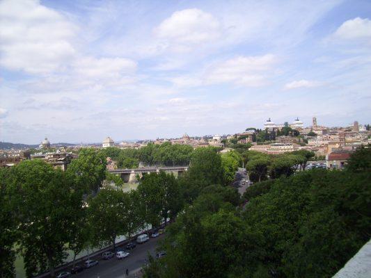Foto di Elena Venturi: Vista dal colle Aventino
