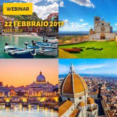 Webinar: Turismo esperienziale e territorio, trend e opportunità per l'Italia