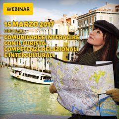 Webinar: Comunicare e interagire con il turista, competenze relazionali e interculturali