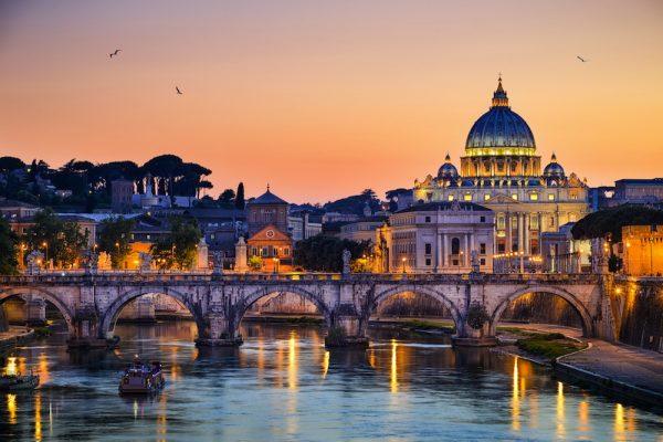 Vaticano e ponte degli angeli