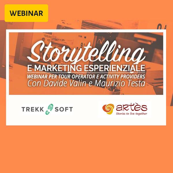 Webinar: Storytelling e Marketing Esperienziale per Tour Operator