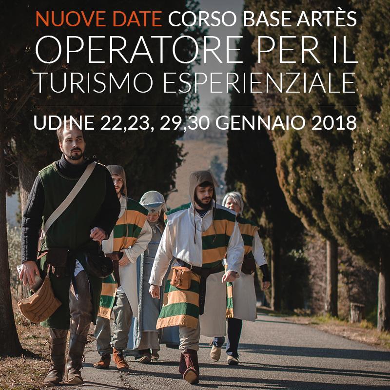 Corso base Artès Operatore per il turismo esperienziale