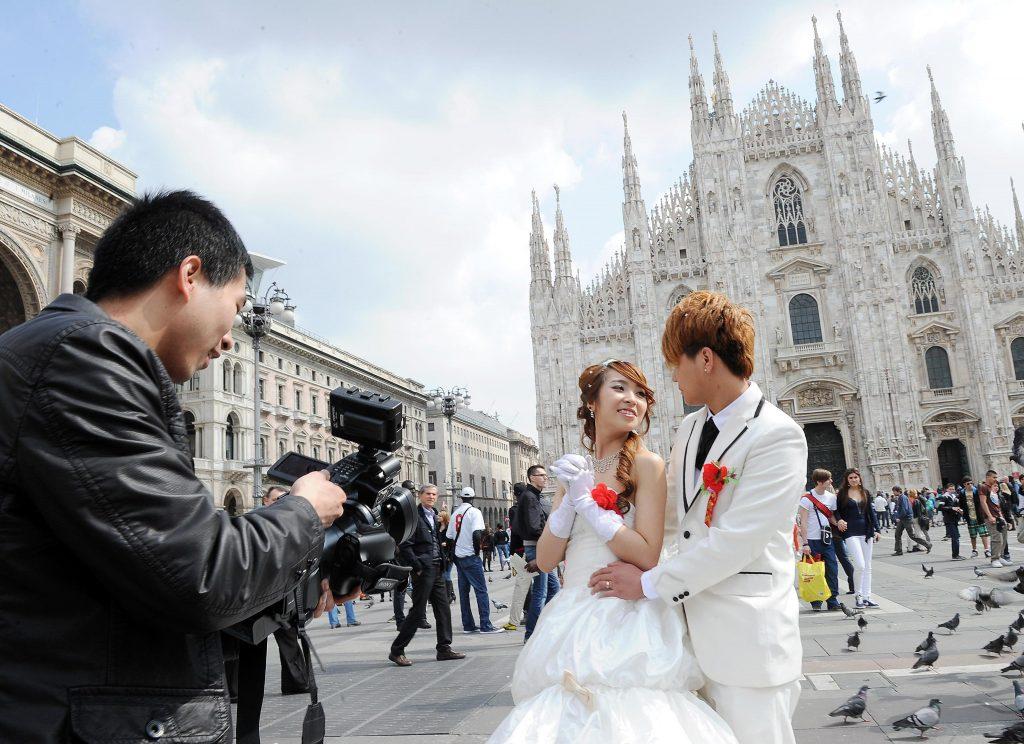 Wedding tourism in Italia