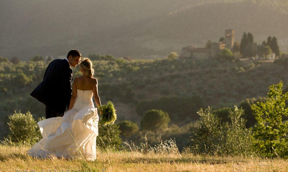 Wedding tourism in Toscana